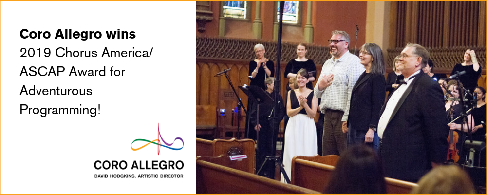 Coro Allegro :: Boston's LGBTQ+ and Allied Classical Chorus